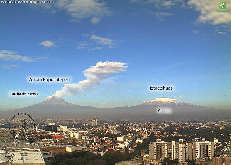Panor 225 Mica De La Ciudad De Puebla Puebla Puebla Webcams De M 233 Xico