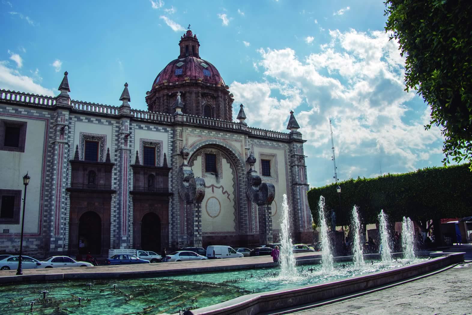 Plaza De Armas De Quer U00e9taro  Quer U00e9taro  Quer U00e9taro