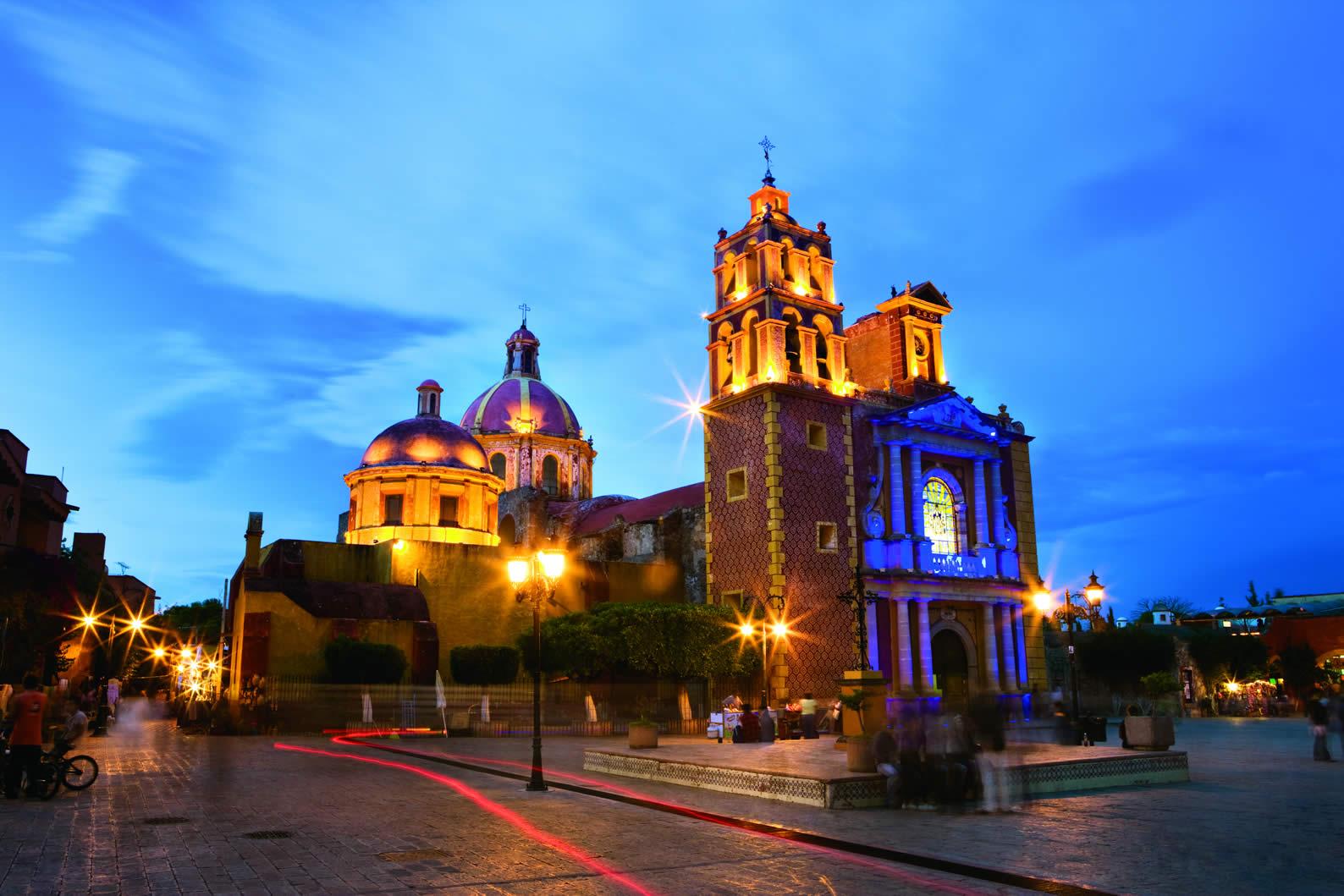 Atardecer en Tequisquiapan